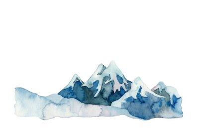 Naklejka 雪山