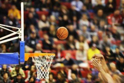 Naklejka Zabicie Zwycięskie punkty na mecz koszykówki