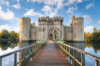 Naklejka Zamek Bodiam w Anglii