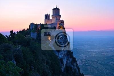 Naklejka Zamek San Marino