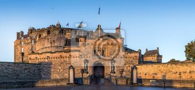 Naklejka Zamek w Edynburgu przed bramą
