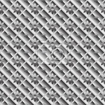 Zaprojektuj bezproblemową metaliczny przekątnej wzór