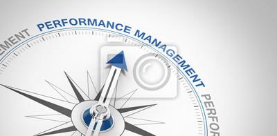 Naklejka Zarządzanie wydajnością