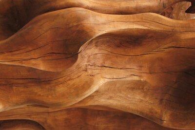 Naklejka Zbliżenie tekstury drewna