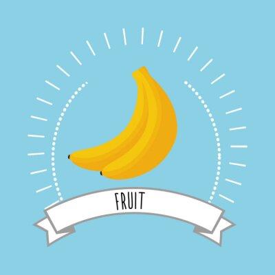 Naklejka Zdrowe i naturalne jedzenie