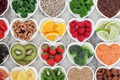 Naklejka Zdrowe Serce Żywności