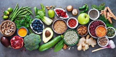 Naklejka Zdrowy wybór żywności