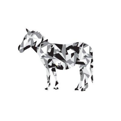 Naklejka Zebra  Logo