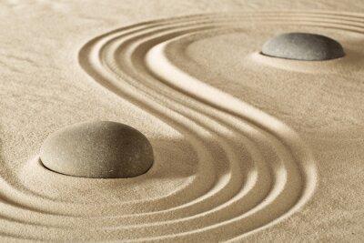 Naklejka Zen kamienie i skały