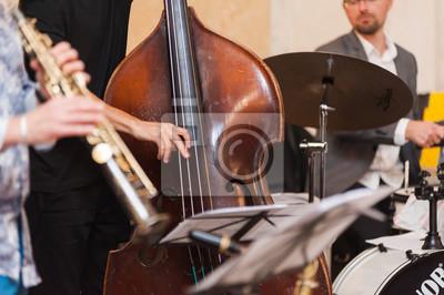 Naklejka Zespół jazzowy. Nauczanie jazzu.