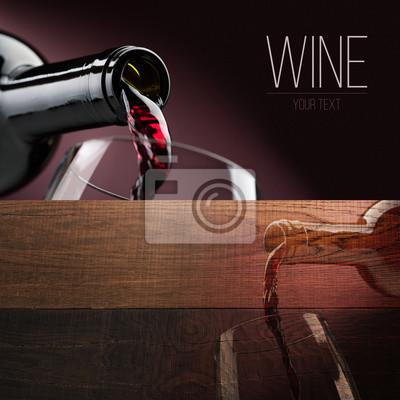 Zestaw bannerów degustacji wina