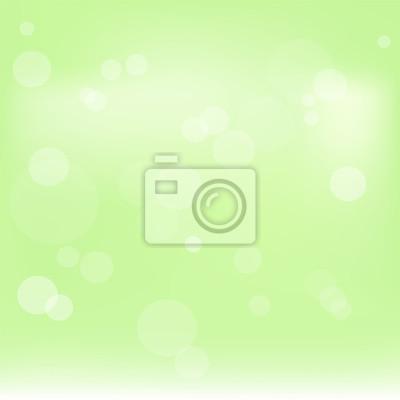 Zielony abstrakcjonistyczny wektorowy ilustracyjny tło