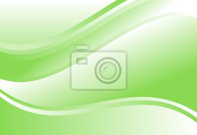 Zielony gradient streszczenie krzywej i faliste tło dla karty, roczny raport biznesowy, plakat szablon