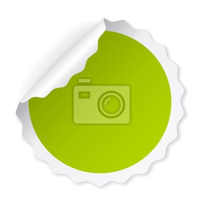 ca2f624d312c9a Zielony zwinięty Uwaga papieru wektora naklejek. Puste pomarańczowy wektor  naklejki. Różowy okrągłe naklejki
