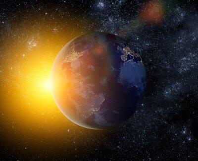 Naklejka Ziemia