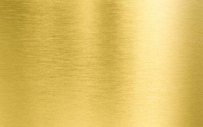 Naklejka złota tekstury metalu