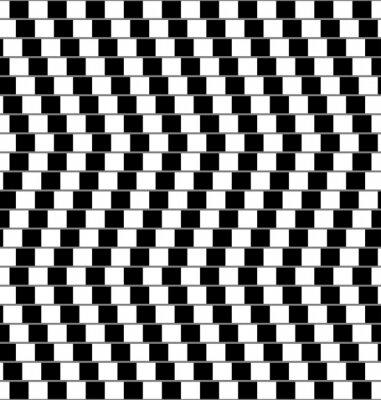 Naklejka złudzenie optyczne