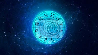 Naklejka Znaki zodiaku astrologia dla horoskopu