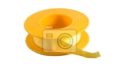 żółta taśma hydraulika