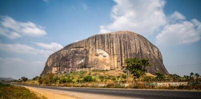 Naklejka Zuma Rock Near Abuja, Nigeria