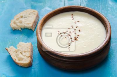 Naklejka Zupa-puree z selera