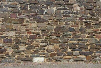 Naklejka Zwolniony - Naturstein Mauer