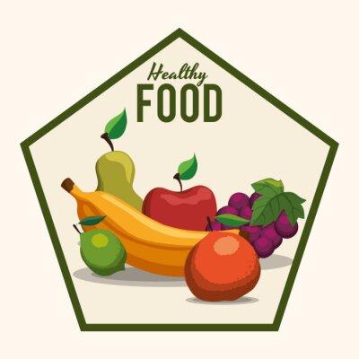 Naklejka Żywność i ikony menu design