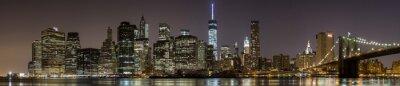 Obraz 2014 Nowy Jork Dpwntown Panorama
