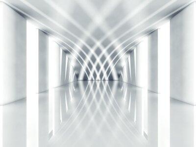 Obraz 3d nowoczesna architektura wnętrz
