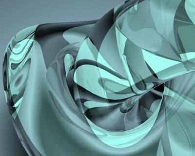 Obraz 3d świadczonych ilustracji kolorowych abstrakcyjne linie