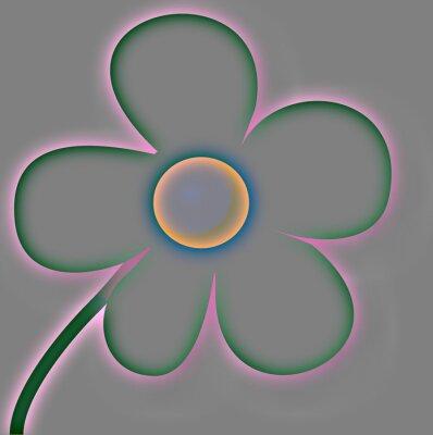 Obraz 5- płatek kwiatu