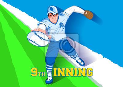 Obraz 9th inningu baseball