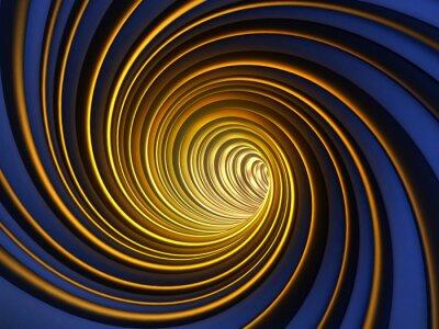 Obraz Abstract 3D Vortex