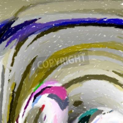 Obraz Abstract Art - impresjonizm