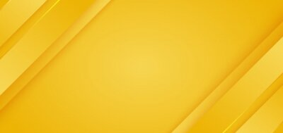 Obraz Abstract background bright yellow diagonal stripes lines