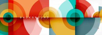 Obraz Abstract background circle design