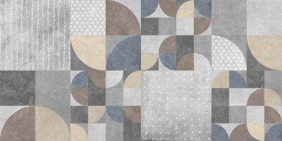 Obraz abstract geometric background