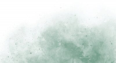 Obraz Abstract green watercolor background for your design, watercolor background concept, vector.