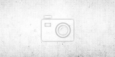 Obraz Abstract halftone dotted background. Grunge effect vector texture