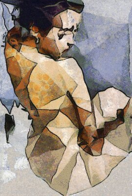 Obraz abstract paintings of women
