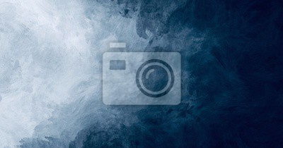 Obraz Abstract watercolor paint background dark blue color grunge  texture for background, banner