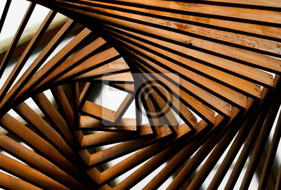 Obraz Abstraction from wood