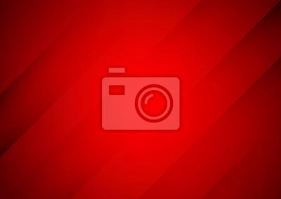 Obraz Abstrakcjonistyczny czerwony wektorowy tło z lampasami