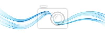 Obraz Abstrakcjonistyczny kolorowy wektorowy tło, kolor fala dla projekt broszurki, strona internetowa, ulotka.