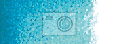 Obraz Abstrakcyjna transparentu geometryczne
