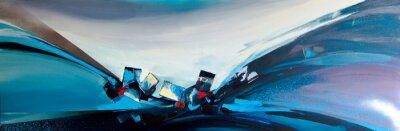 Obraz Abstrakcyjny obraz olejny 01