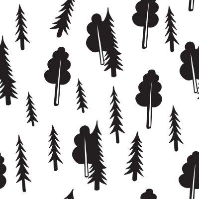 Abstrakcyjny wzór lasu