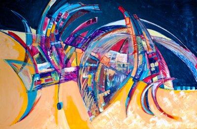 Obraz Abstraktion Verbogene
