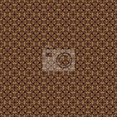 Adamaszek szwu. Wektor abstrakcyjna tła kwiatu