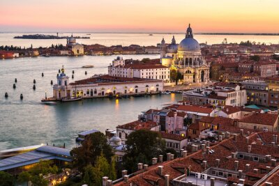 Obraz Aerial view of Venice